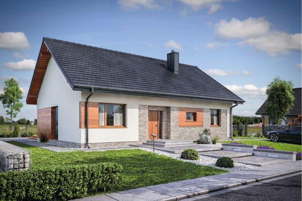 Domena 120 to dom parterowy, z poddaszem do adaptacji, przeznaczony dla czteroosobowej rodziny.