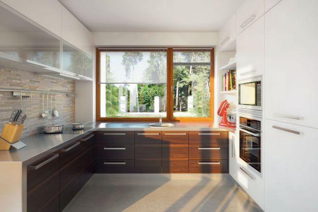 Wnętrze niedużego (107 m²) parterowego domu Endo zostało zaprojektowane tak, aby było proste, wygodne i, przede wszystkim, funkcjonalne. Stworzono w nim optymalne warunki do mieszkania dla 4-osobowej rodziny.