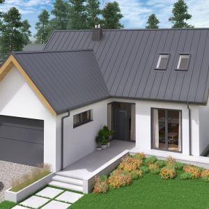 Nowoczesny dach: panel dachowy Oskar Pro marki Regamet. Fot. Regamet