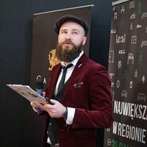 Mateusz Orłowski z firmy Servitor opowiadał o współpracy z architektami wnętrz. Studio Dobrych Rozwiązań, Toruń, 10 marca 2020