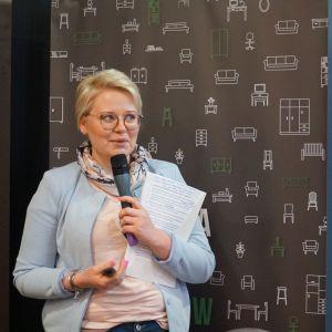 Marta Domagalska reprezentowała firmę Wabud - Twój Świat Łazienek. Studio Dobrych Rozwiązań, Toruń, 10 marca 2020