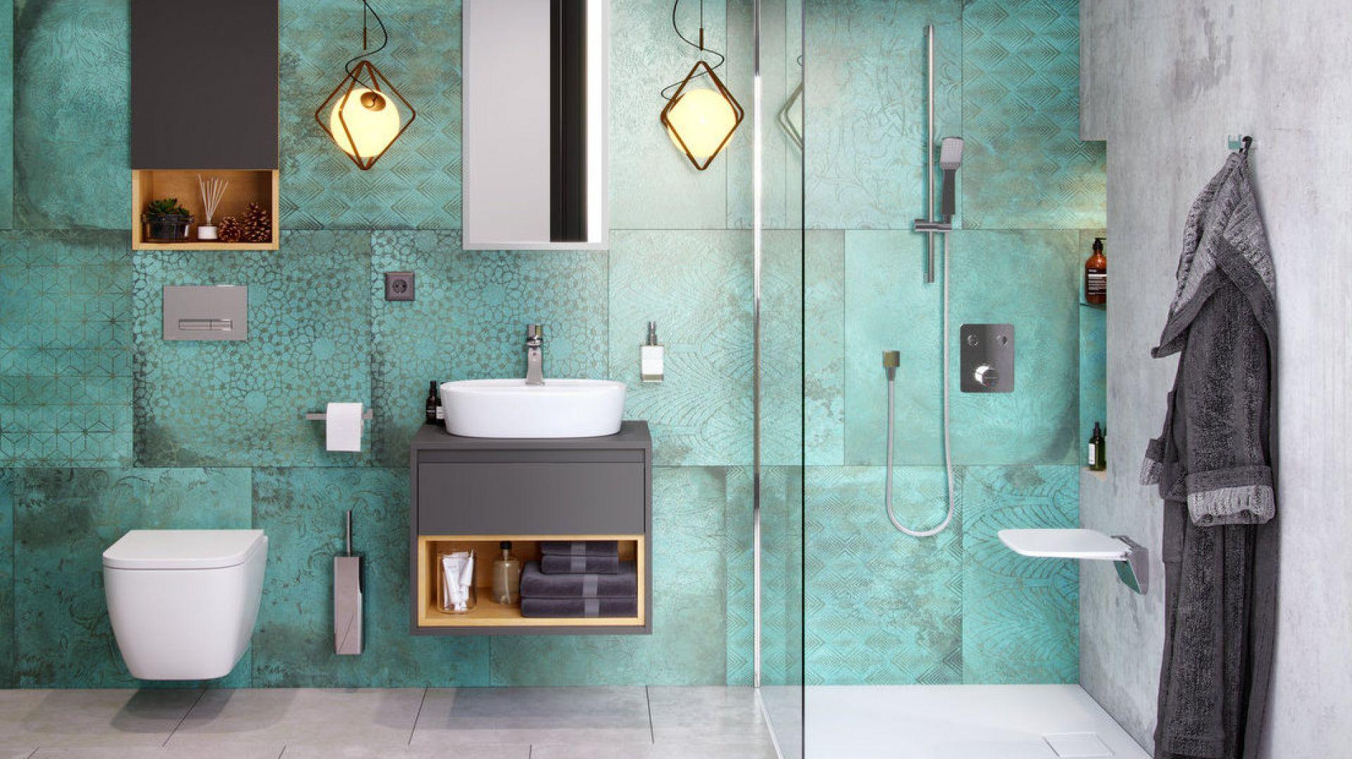 Siedzisko prysznicowe Seduro dostępne w ofercie firmy Excellent. Fot. Excellent
