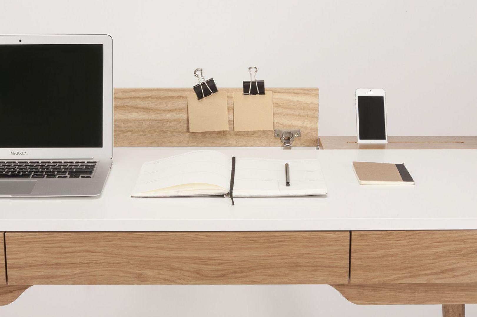 Domowe biuro. Biurko Omni marki Paged. Fot. Paged Meble