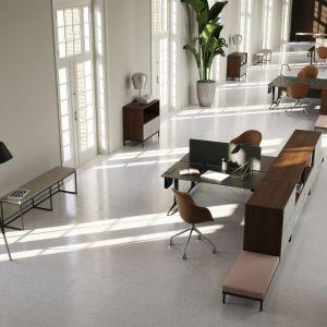 Domowe biuro: system mebli Atlanta. Fot. BoConcept