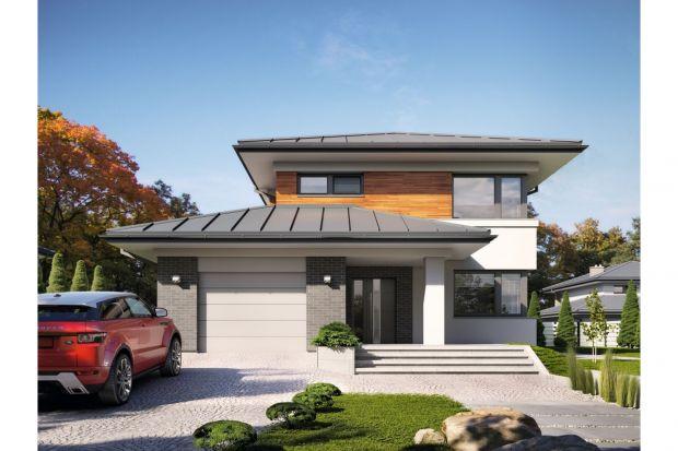 Kadyks, to projekt nowoczesnego domu piętrowego przeznaczonego dla 4-osobowej rodziny. To typowo miejska rezydencja o reprezentacyjnym wyglądzie i optymalnej powierzchni użytkowej. Posiada bogaty program funkcjonalny, rozłożony na dwóch pełnych kon