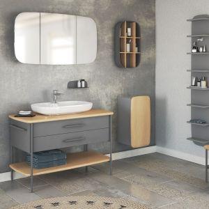 Kolekcja mebli łazienkowych Oval projektu polskiego duetu designerów – Marty Niemywskiej-Grynasz i Dawida Grynasza, stworzona dla marki Devo.