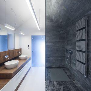 Edge House - dom na urwisku. Architektura: Przemek Olczyk / Mobius Architekci. Projekt wnętrz: Monika Kozłowska. Fot. Paweł Ulatowski