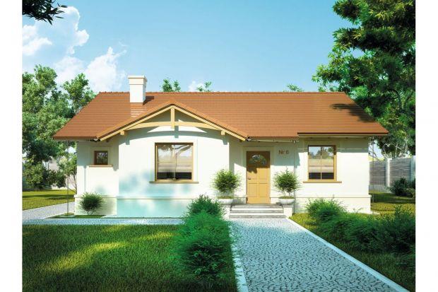 Czy poszukują Państwo małego domu parterowego dla 3-4-osobowej rodziny? Mamy świetną propozycję – projekt domu Słoneczko II.