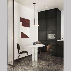 Aranżacja mieszkania o powierzchni 39 metrów kwadratowych. Projekt i wizualizacje: Diana Żurek