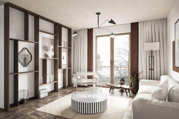 Mieszkanie o powierzchni 39 metrów zaplanowano wygodnie i niezwykle komfortowo. Zadbano tu o każdy szczegół. Jest jasno i nowocześnie. Architekt postawiła też na naturalne materiały.