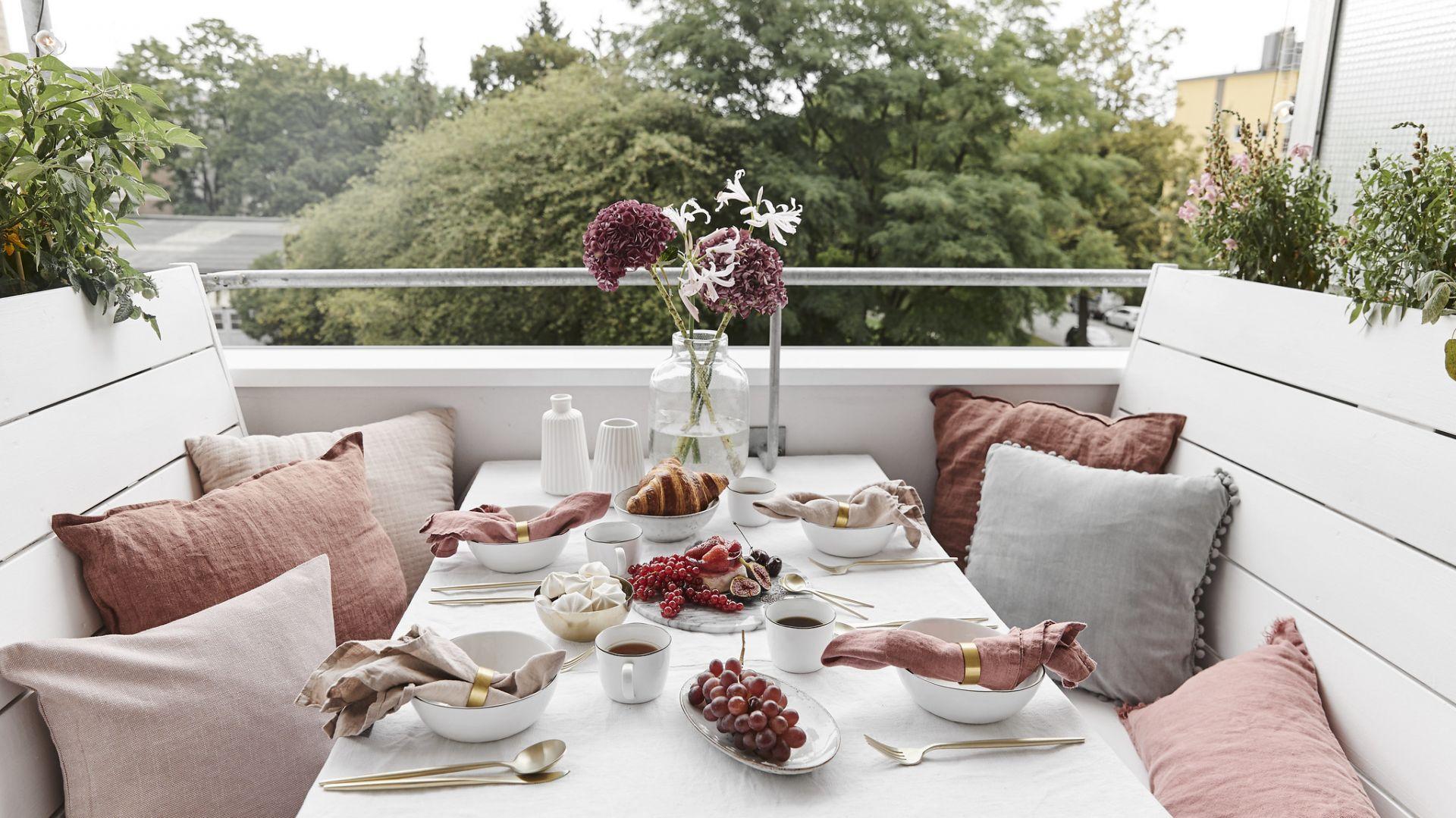 Urządzamy balkon. Pastelowy i romantyczny. Fot. WestwingNow
