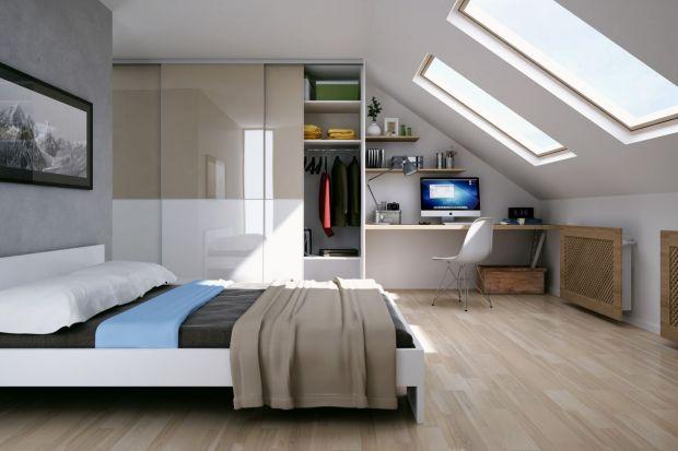 Często to sypialnia jest jedynym miejscem, w którym udaje się wygospodarować kącik biurowy. To właśnie tu bowiem często możemy liczyć na chwilę odosobnienia i koncentracji z dala od strefy dziennej.
