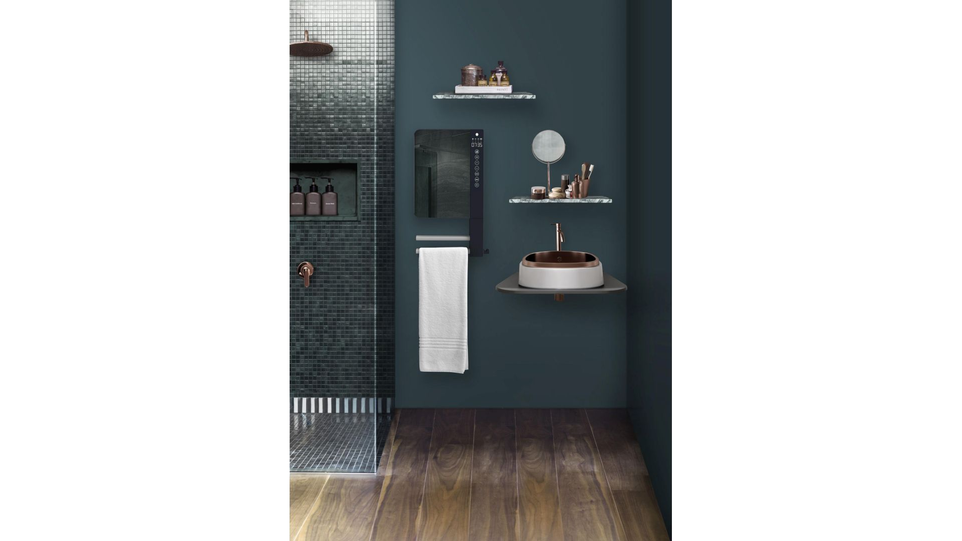 Grzejnik łazienkowy Telia, model Mirror. Fot. Telia