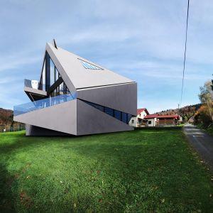 Projekt dom o nietypowej bryle: RE: BIAS HOUSE. Autor: Marcin Tomaszewski, Reform