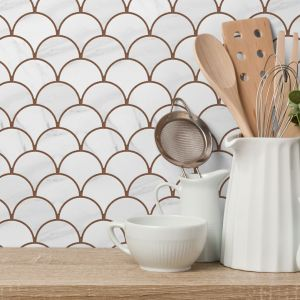 Flabellum Marble Mat - kolekcja Marble/Raw Decor