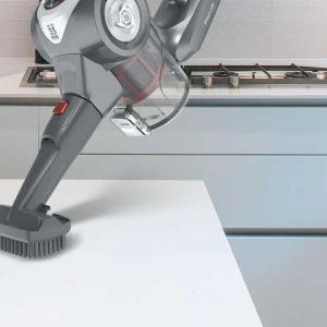 Kompaktowy, ergonomiczny i zaawansowany technologicznie, bezprzewodowy odkurzacz Hoover Rhapsody RA22SE 011 jest wygodny w użyciu i bogaty w akcesoria. Fot. Hoover Rhapsody