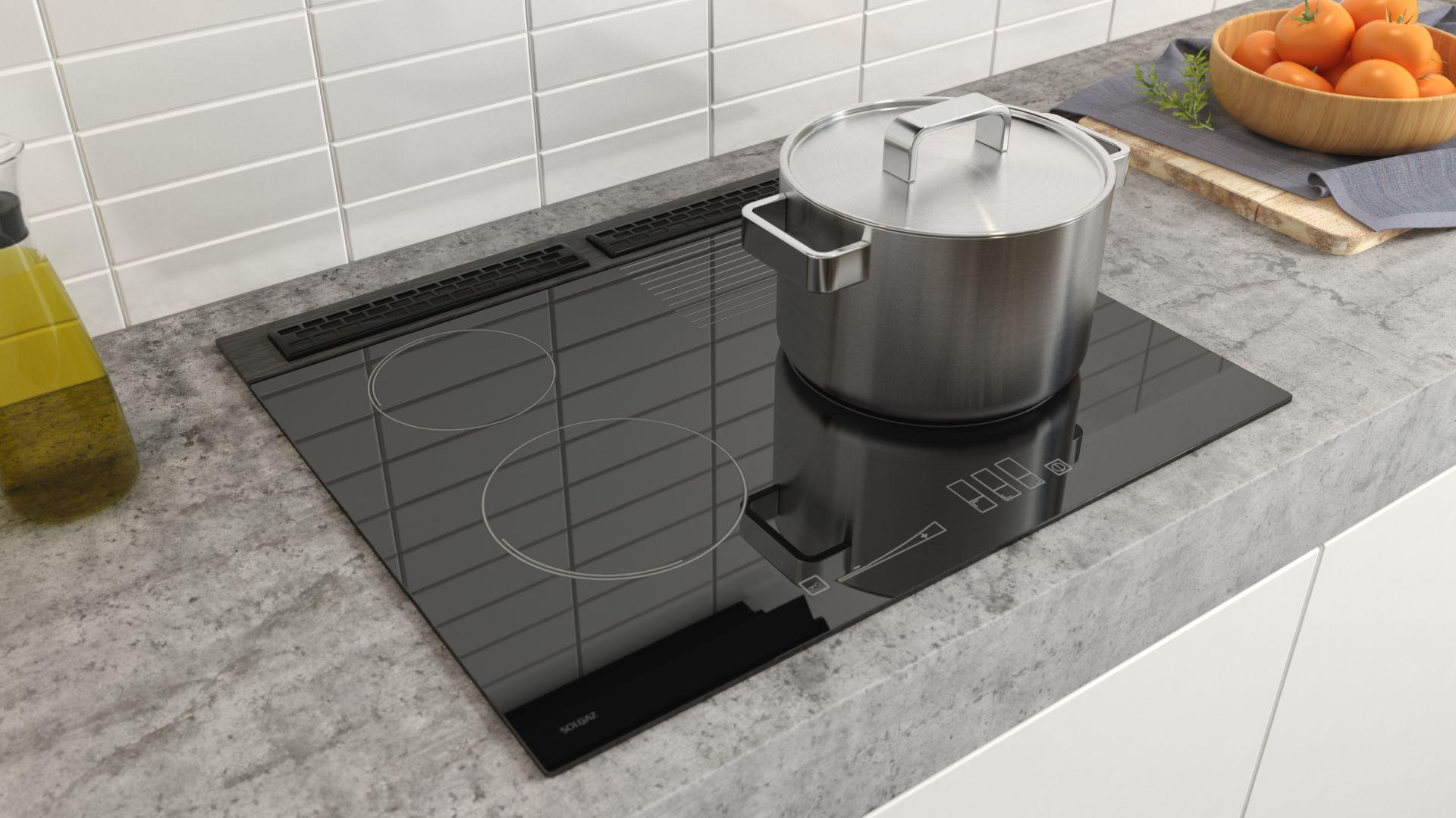 Płyta z ukrytymi palnikami - bezpieczna kuchenka dla seniora