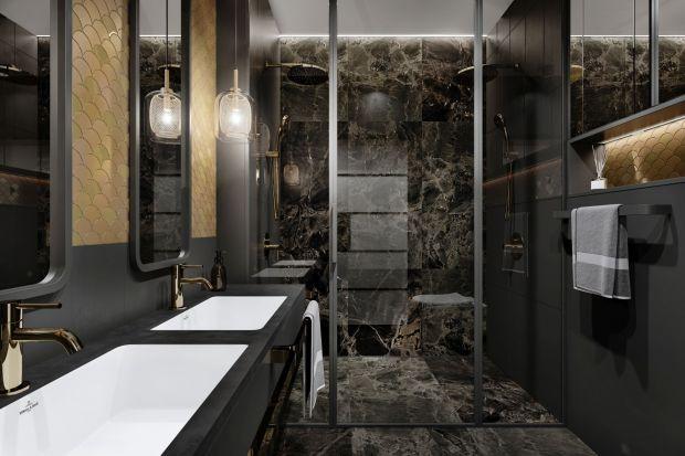 Jak urządzić małą łazienkę? Ten projekt to 4 m2, a jaki efekt!
