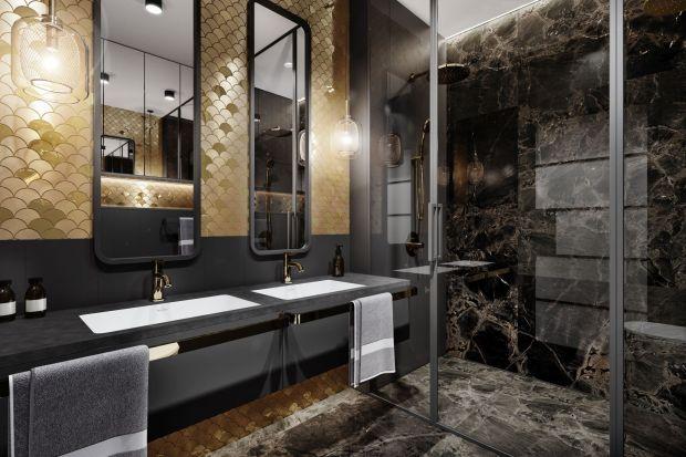 Polecamy projekt niewielkiej, bo zaledwie czterometrowej łazienki. To najlepszy dowód, że małe wnętrza, w tym także małe łazienki można zaaranżować stylowo i elegancko!