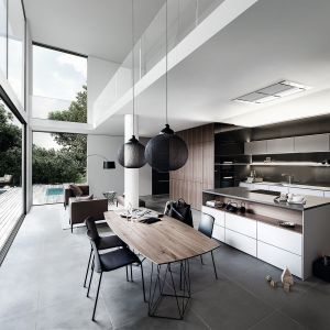 Meble w nowoczesnej kuchni. 10 trendowych kolekcji. fot. SieMatic