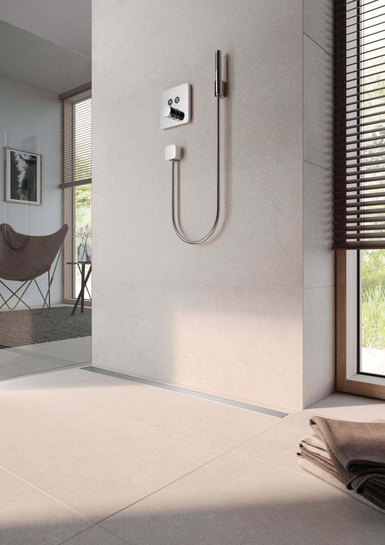 Swoboda na całej linii – odwodnienie prysznicowe TECEdrainline