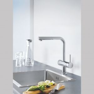 Baterie kuchenne Blue Pure. Fot. Grohe