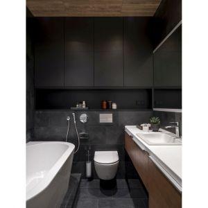 Nowoczesny, wygodny i funkcjonalny apartament. Projekt: Design Studio Geometrium. Fot. E. Kulibaba