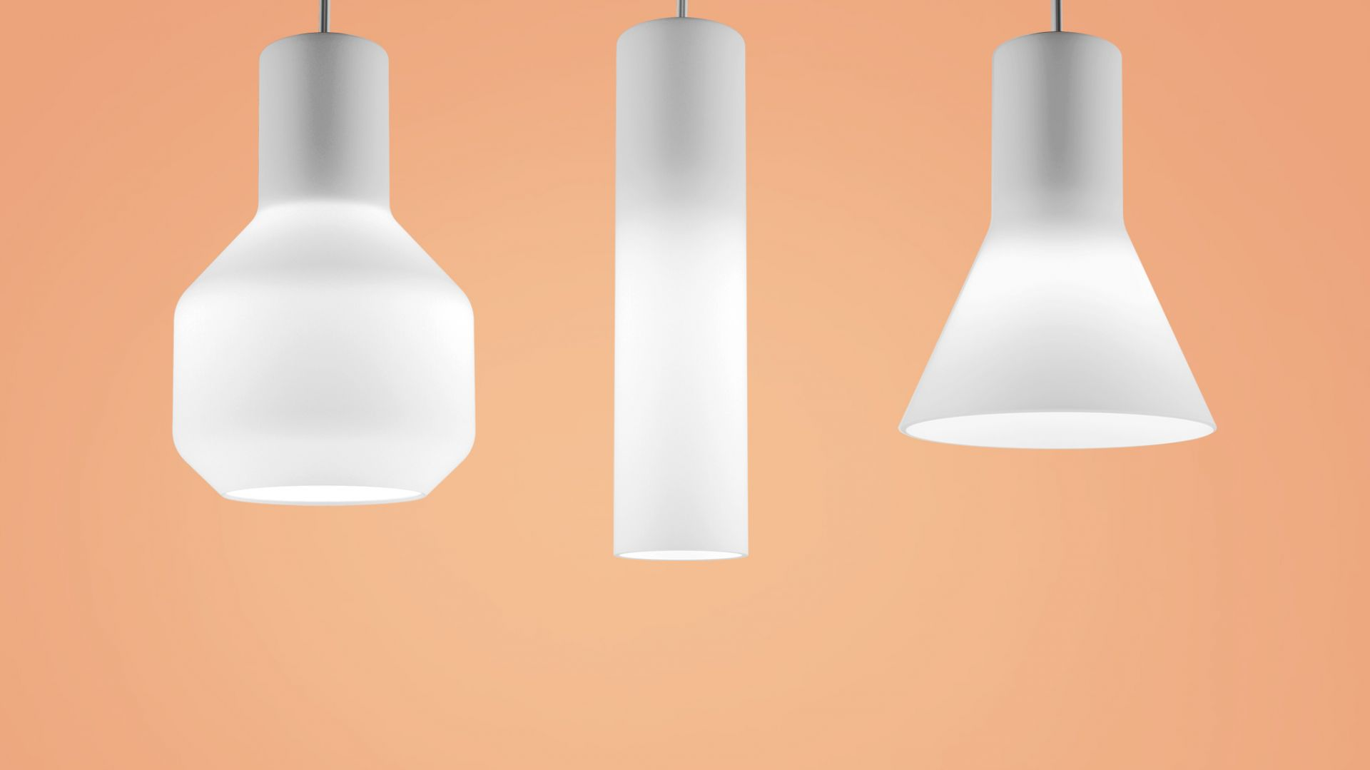 Lampy z kolekcji Modern Glass. Fot. AQForm
