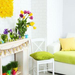 Żółć i zieleń to wiodące kolory wystroju wielkanocnego. Fot. RuckZuck