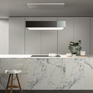 10 pomysłów na marmur w kuchni i łazience. Fot. Falmec