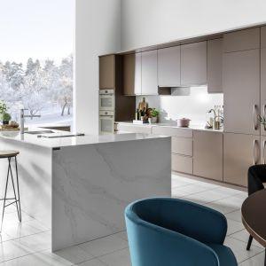 10 pomysłów na marmur w kuchni i łazience. Fot. WFM