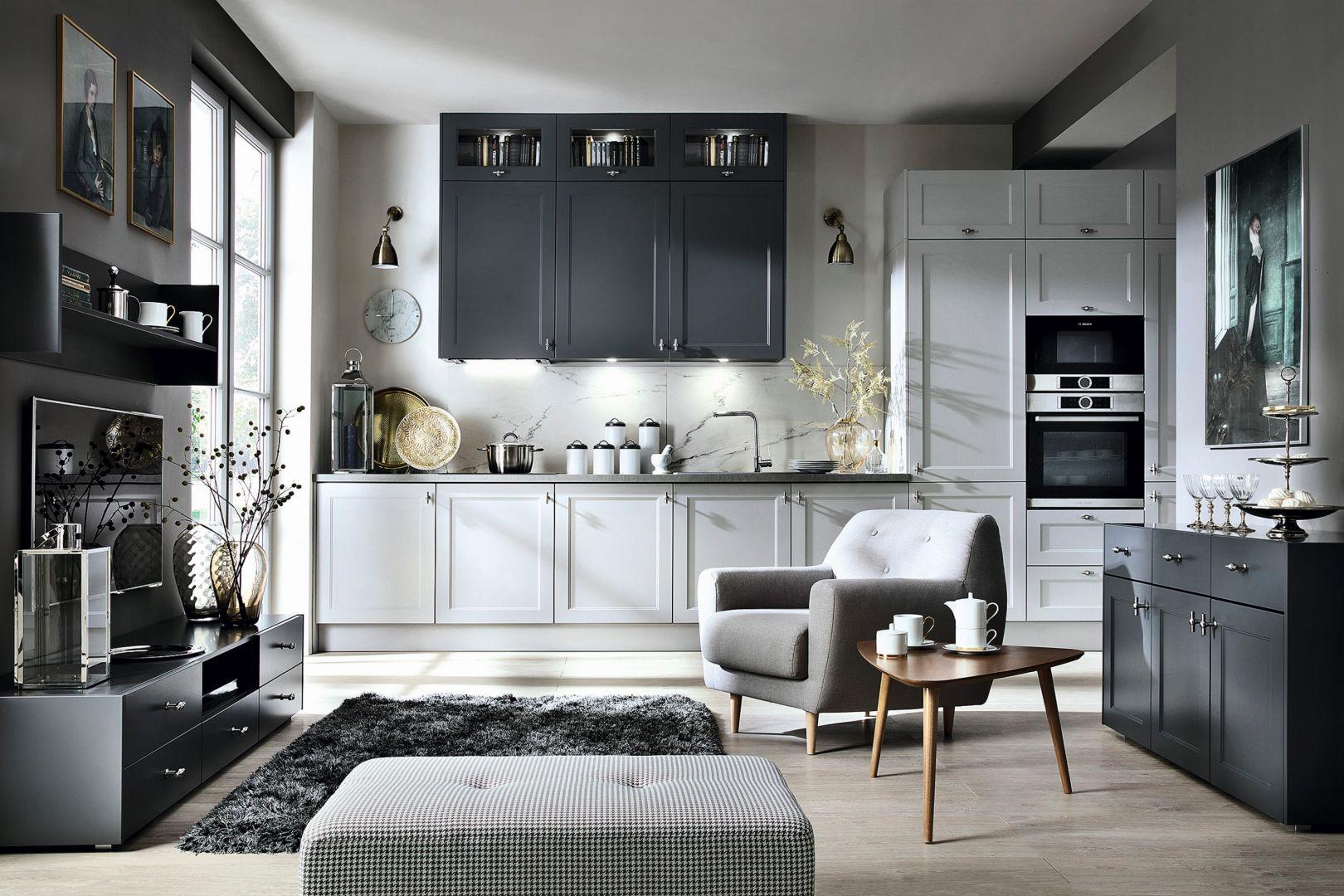10 pomysłów na marmur w kuchni i łazience. Fot. Black Red White