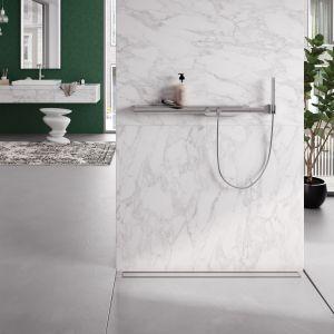 10 pomysłów na marmur w kuchni i łazience. Fot. Tece