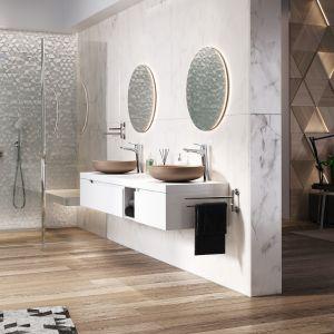 10 pomysłów na marmur w kuchni i łazience. Fot. Ferro