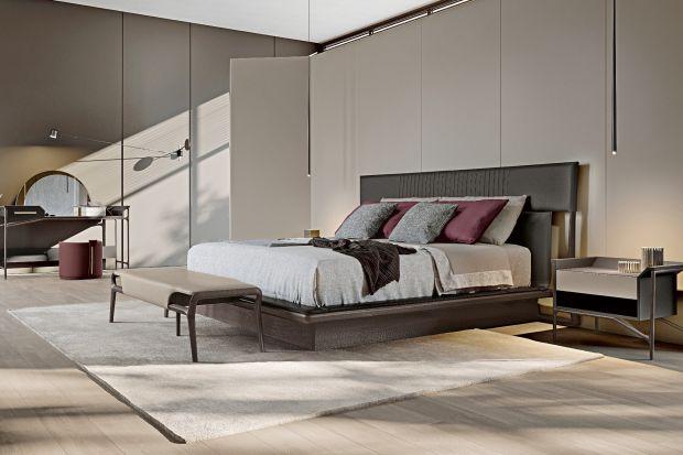 Sypialnia w kolorach ziemi. Nowe kolekcje prosto z Włoch