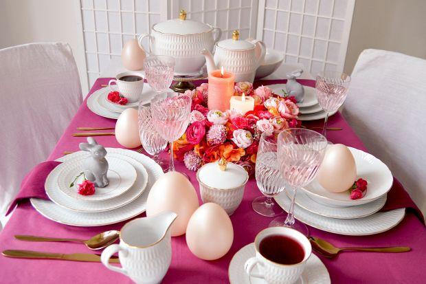 Piękna porcelana sprawi, że stół przygotowany na wielkanocne śniadanie lub obiad będzie wyglądał elegancko i stylowo.<br /><br />