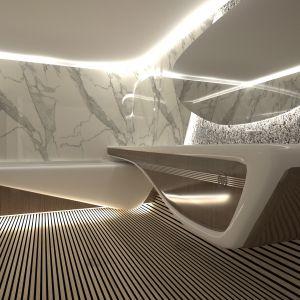 Wizualizacja Penthouse Futuro