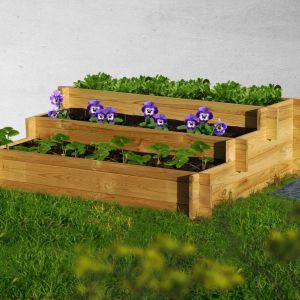 W ekologicznym ogrodzie warto postawić na naturalne materiały które bez problemu ulegną biodegradacji. Fot. Leroy Merlin