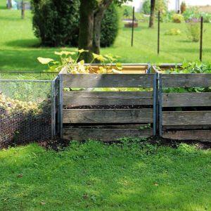 Nie ma zrównoważonego ogrodu bez porządnego kompostownika. Fot. Pixabay