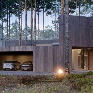 Dom Circle Wood pod Warszawą. Projekt: Przemek Olczyk / Mobius Architekci