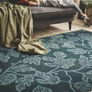 Hildigard – dywan z krótkim włosiem, wykonany z włókien syntetycznych. IKEA