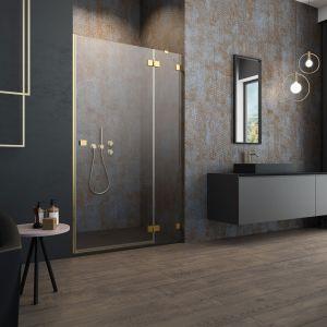 Ciemne kolory w łazience. To jest trendy! Fot. Radaway