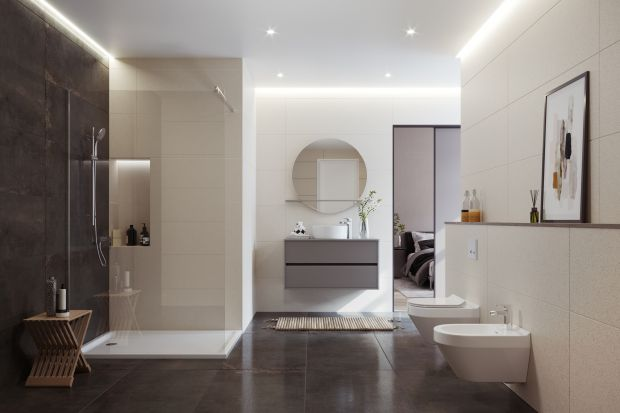 Ostatnio wśród trendów królują minimalistyczne wnętrza wyznające zasadę – im mniej, tym lepiej. Brak zbędnych przedmiotów ułatwia również utrzymanie porządku w łazience. Jest ono o tyle ważne, że w czystej przestrzeni jesteśmy w stanie