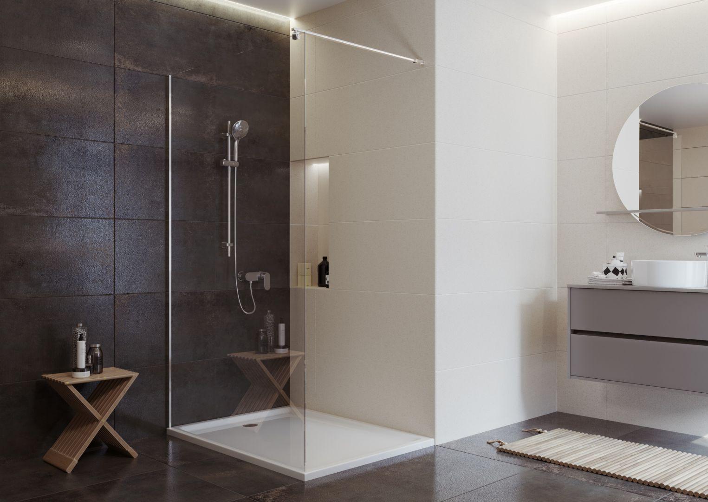 Jak stworzyć czystą przestrzeń w łazience? Fot. Cersanit