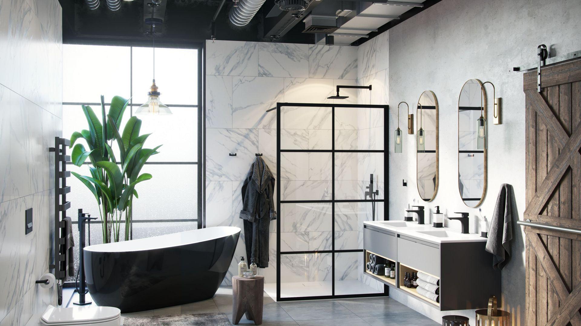 Modna strefa prysznica. 15 pomysłów na urządzenie Fot. Excellent