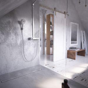 Modna strefa prysznica. 15 pomysłów na urządzenie. Fot. Kessel