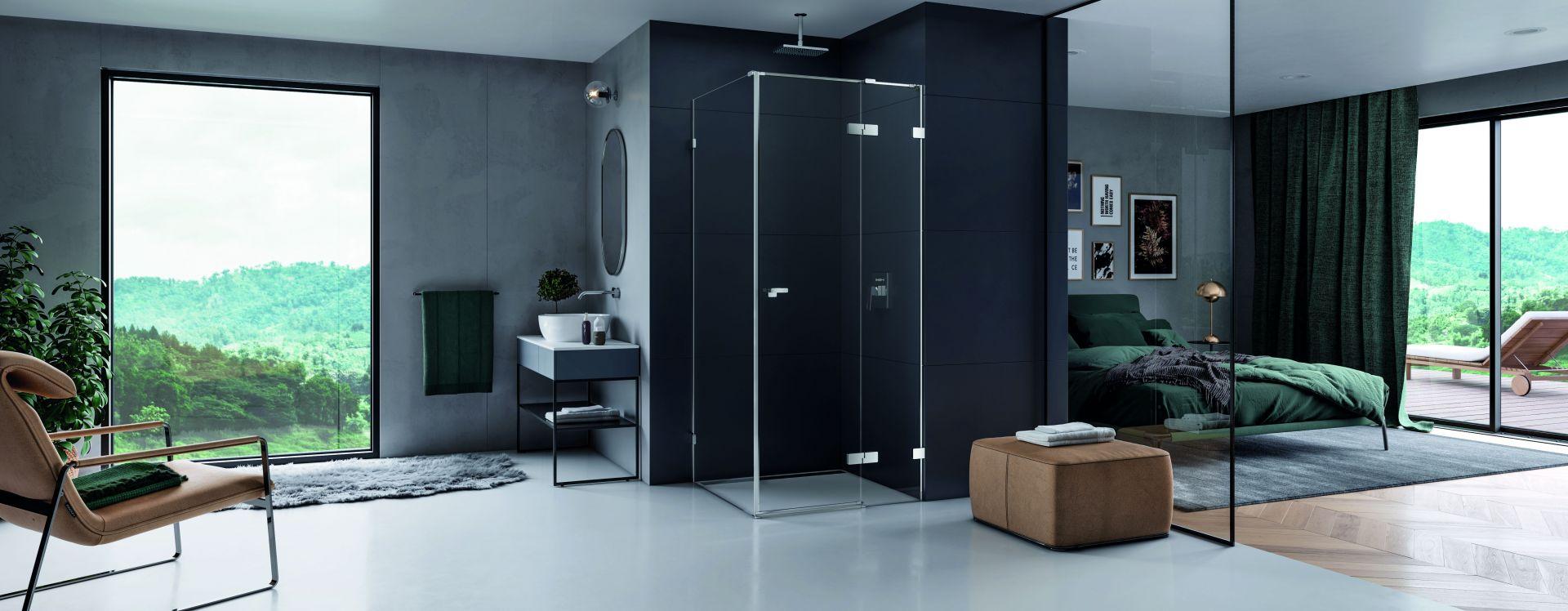 Modna strefa prysznica. 15 pomysłów na urządzenie. Fot. NewTrendy