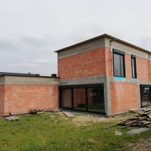Dom w trakcie budowy. Projekt: Magdalena Gierczak, Zbigniew Gierczak