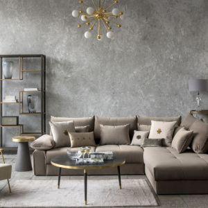 Meble do salonu z kolekcji Mineral Elegance dostępne w ofercie Miloo Home. Fot. Miloo Home
