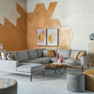 Kolekcja mebli i dodatków do salonu Geometric Pastels dostępna w ofercie Miloo Home. Fot. Miloo Home